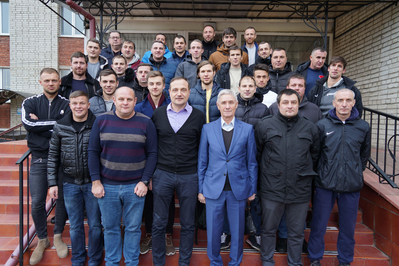 Завершили своє навчання студенти за програмою В-диплом УЄФА у м. Львові.