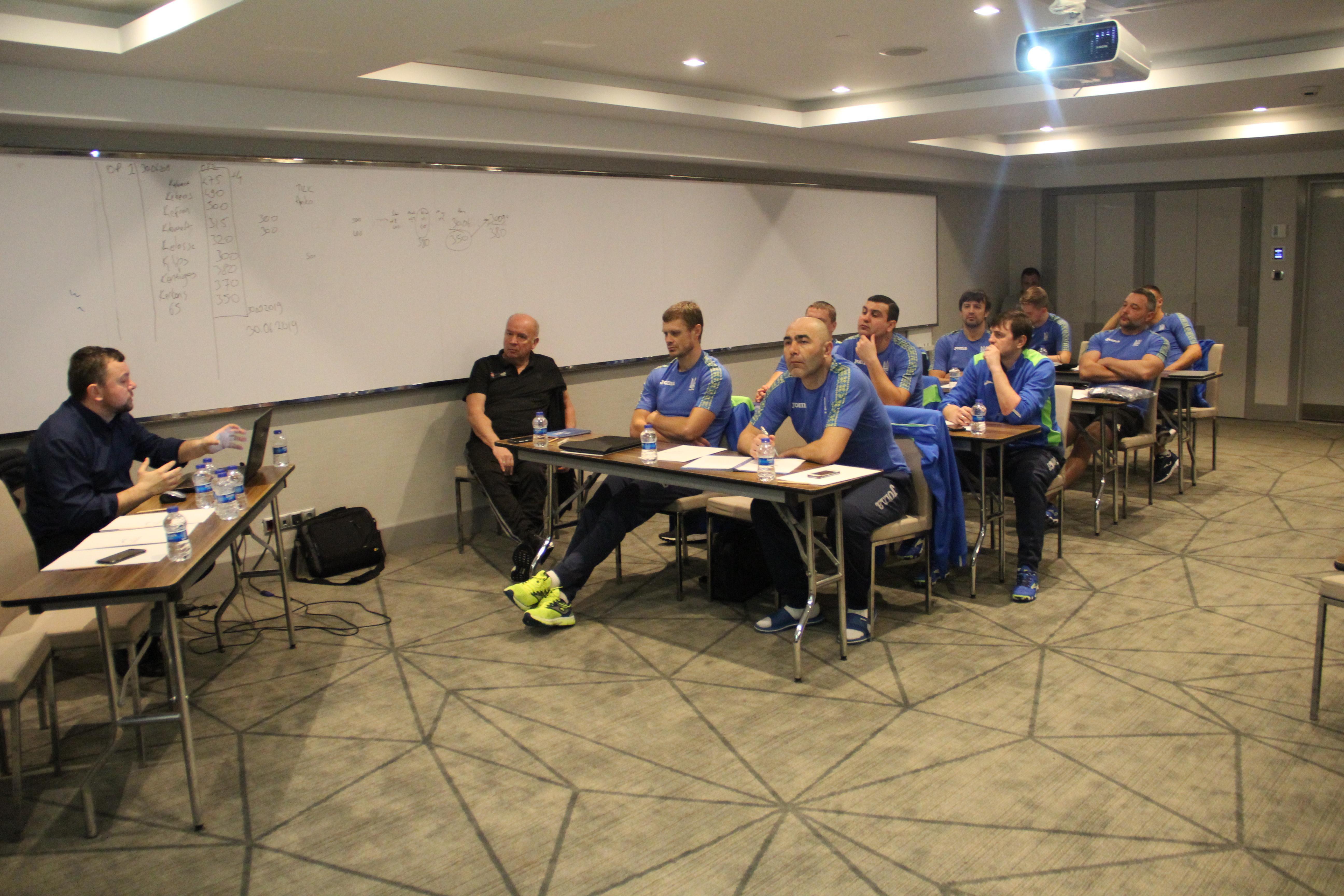 З 2 по 9 лютого 2019 року в м Анталья (Туреччина) пройшла друга сесія за програмою «ПРО» -диплом УЄФА.