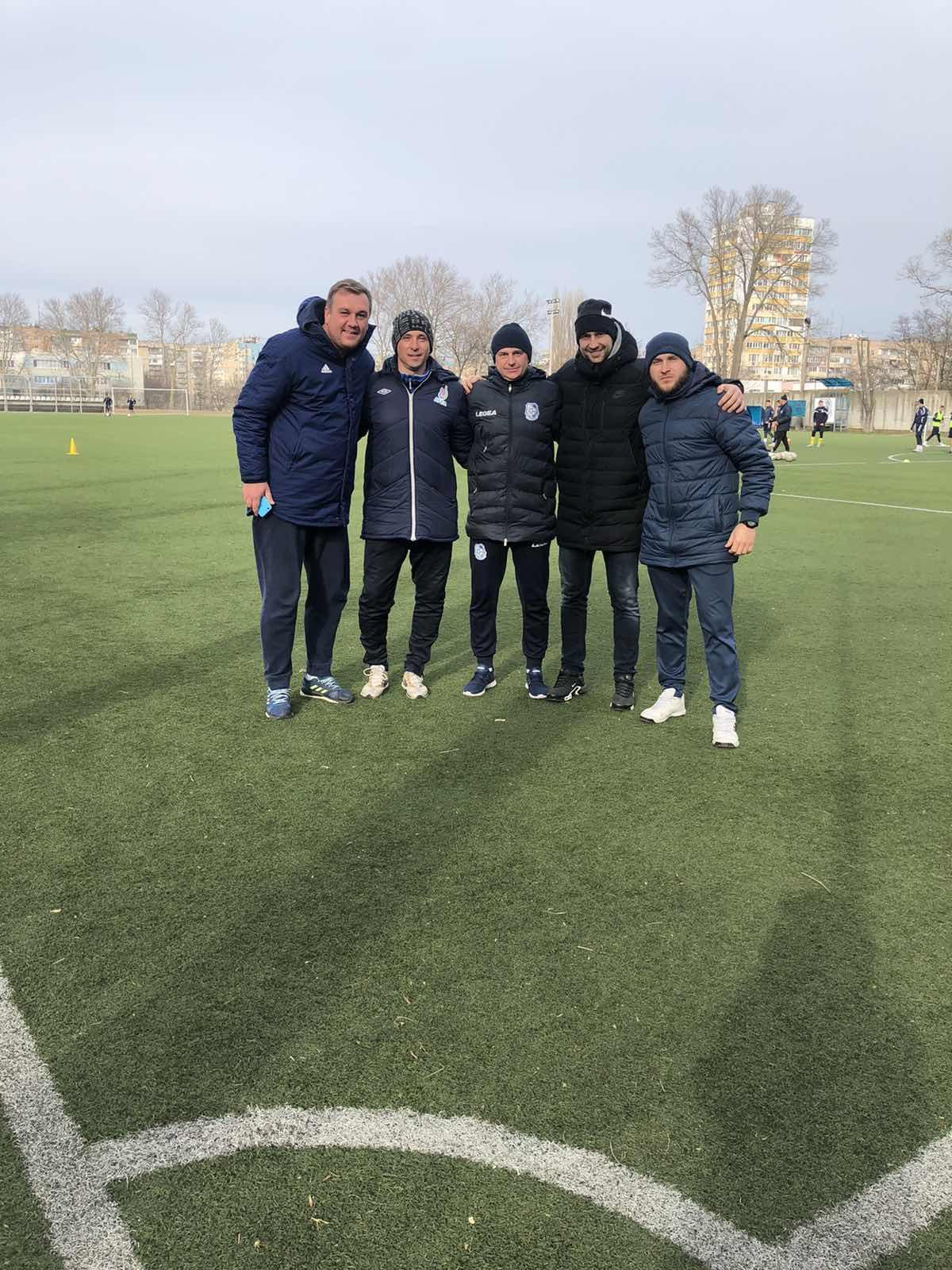 """Слухачі програми """"В"""" диплом UEFA (перша група) з футзалу, провели стажування у мікрогрупах"""