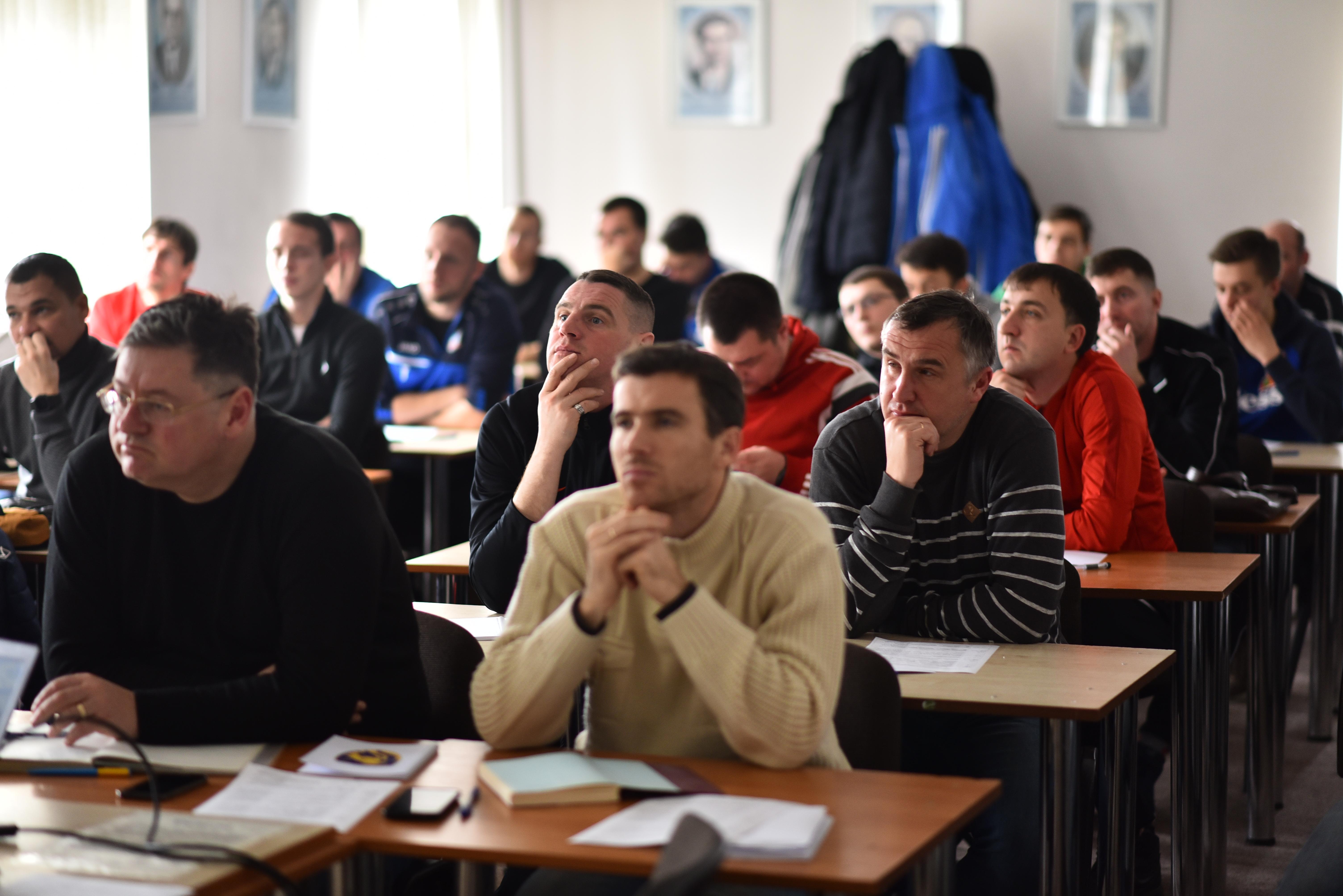 """У Львові розпочалось навчання за програмою """"В"""" диплом UEFA"""
