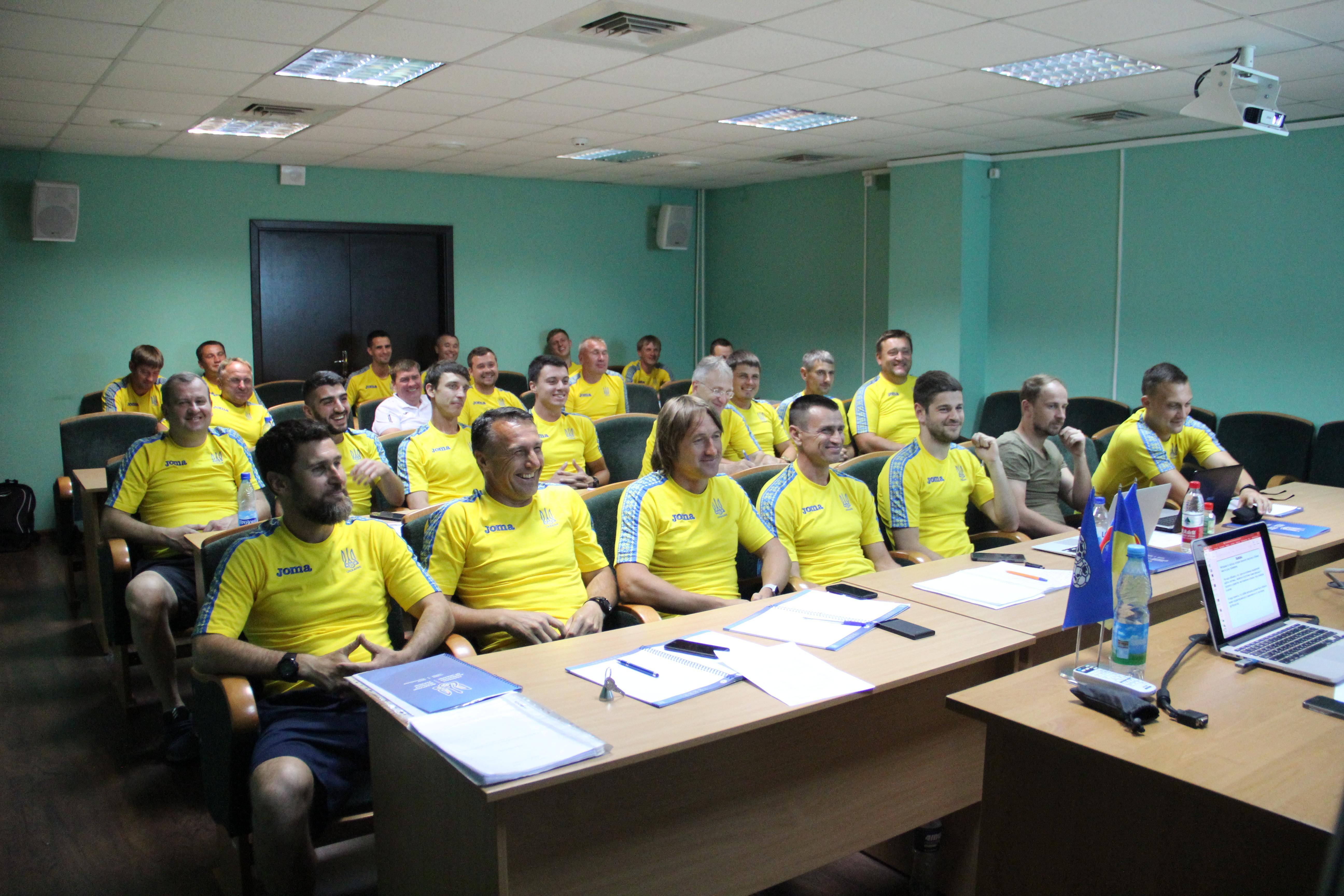 У період з 10 по 14 червня 2019 року відбулась 4-я сесія групи А-диплому UEFA