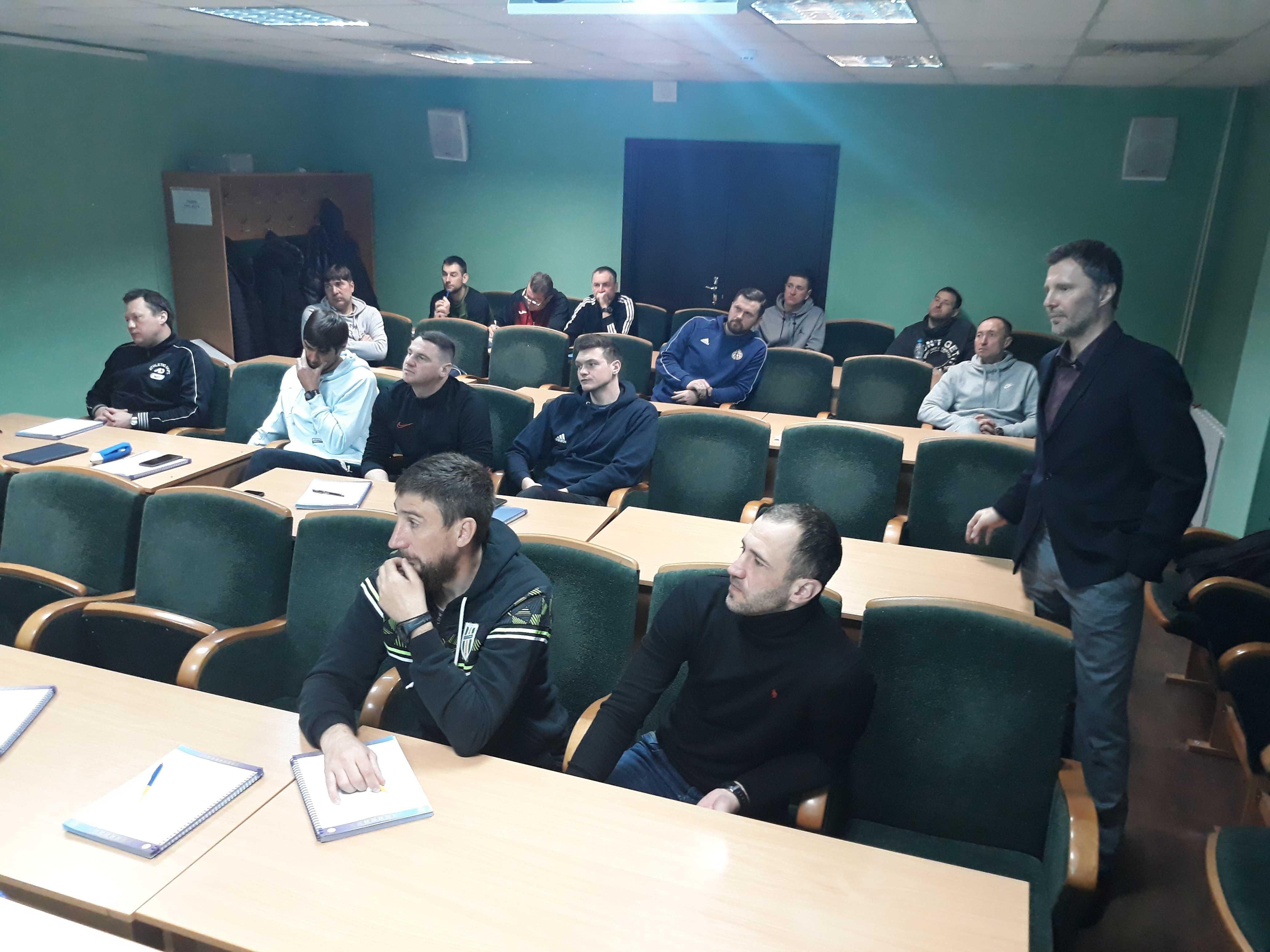 Відбувся перший  модуль навчання за програмою «А» - ліцензія УЄФА тренерів воротарів у 2021 році.