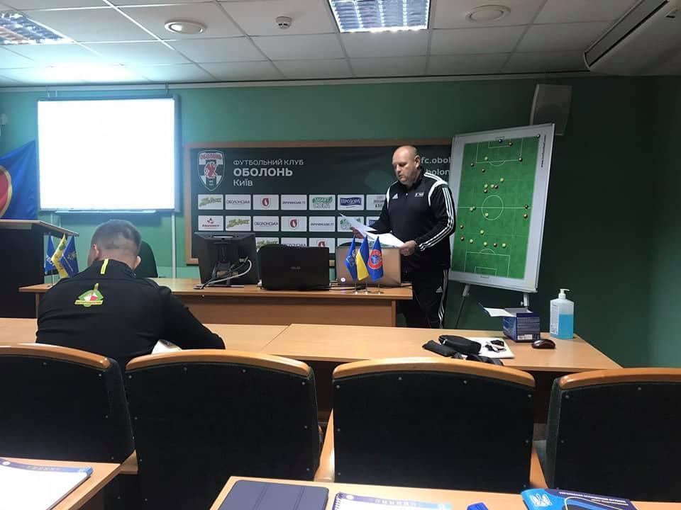 Відбувся другий  модуль навчання за програмою «А» - ліцензія УЄФА тренерів воротарів.
