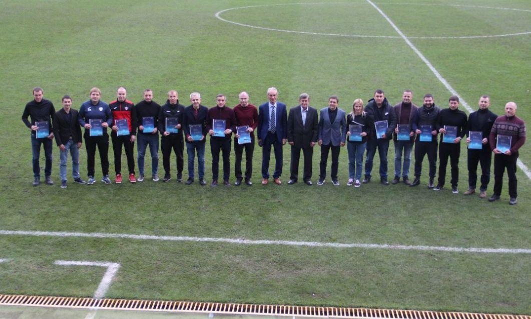 Відбулося вручення ліцензій слухачам курсу «В»-диплом УЄФА з футзалу