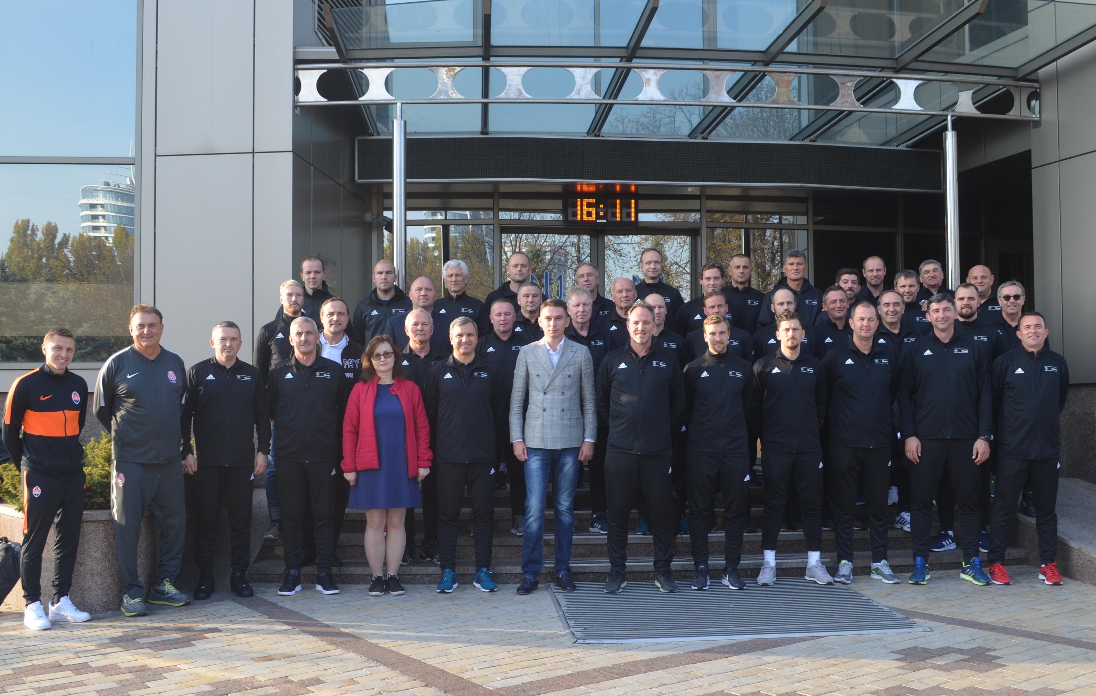 Відбувся семінар UEFA для інструкторів з питань навчання тренерів