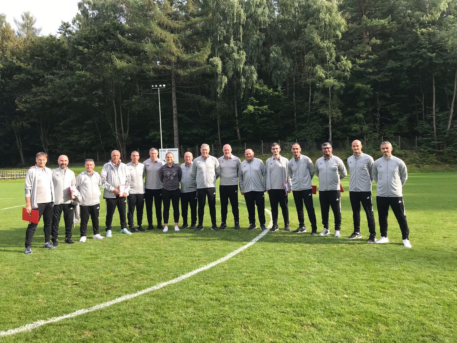 У період з 5 по 9 вересня у польському місті Сопот проходив семінар УЄФА для наставників (UEFA Share: Goalkeeper coach educators)